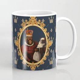 Monkey Queen with Pug Baby Coffee Mug