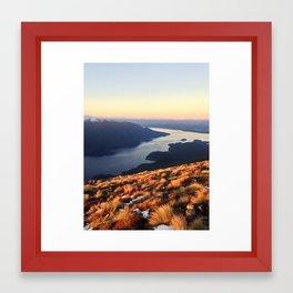 Sunrise at Mount Luxmore Framed Art Print