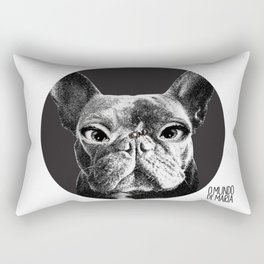 FRENCH BULLDOG FORNASETTI BEE Rectangular Pillow