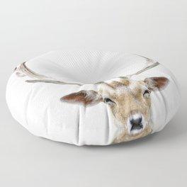 Deer Head Floor Pillow