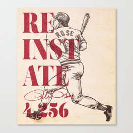 Reinstate Canvas Print