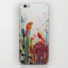 la romance iPhone Skin