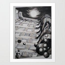 """""""Poirot"""" Art Print"""