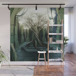 Goddess of Life and Fortune Wall Mural