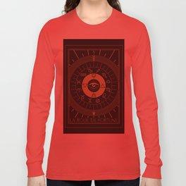 La Roue de Fortune or Wheel of Fortune Tarot Long Sleeve T-shirt