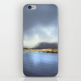 Riverbend in the Scottish Highlands iPhone Skin