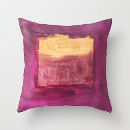 Color abstract 3 Throw Pillow
