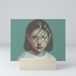 Crying Lighting Mini Art Print