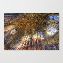 The Thistle Chapel St Giles Cathedral Edinburgh Canvas Print