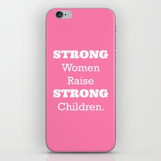 Strong Women - Pink.  iPhone & iPod Skin