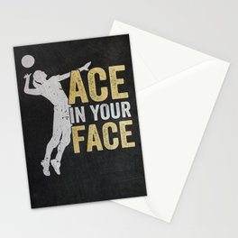 Volleyball Girl Funny Gift Stationery Cards