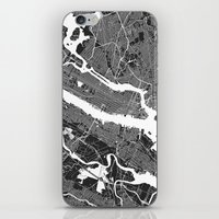 tokyo iPhone & iPod Skins featuring TOKYO by Maps Factory