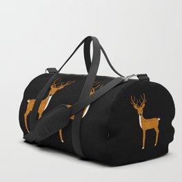GLITTER DEER II Duffle Bag