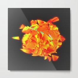 Sun Explosion Metal Print
