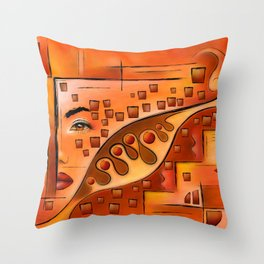 Afanassimi V1 - the vision Throw Pillow