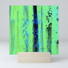 Gerhard Richter Inspired Urban Rain 2 - Modern Art Mini Art Print
