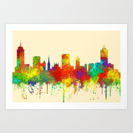 HamiltonCity Ontario, Canada Skyline - SG Art Print
