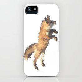 Penrose Tiling Fox  iPhone Case