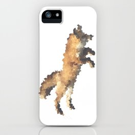 Penrose Tiling Fox  iPhone Case