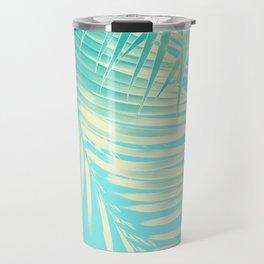 Palm Leaves Summer Vibes #4 #tropical #decor #art #society6 Travel Mug