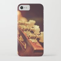 spanish iPhone & iPod Cases featuring Spanish Guitar by Ti Amo Foto