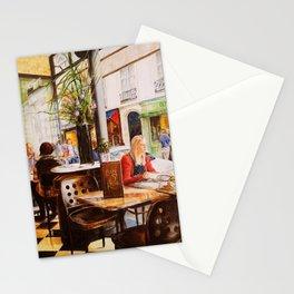 Cafe St. Regis. Paris Stationery Cards