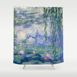 """Claude Monet """"Water Lilies(Nymphéas)"""" (9) 1916–19.jpg Shower Curtain"""