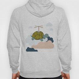 Flying turtle Hoody