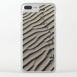 Beach Take Off Clear iPhone Case