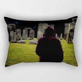 Druid Princess of Stonehenge Rectangular Pillow