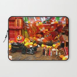 Count & Countess Dracula took their daughters trick or treating at the Van Helsing's. Laptop Sleeve