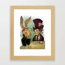 In This Style Framed Art Print