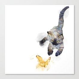 Golden hunt Canvas Print