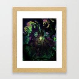 Malefica Framed Art Print