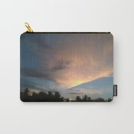 Fox In Socks - Clouds Carry-All Pouch