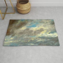 "John Constable ""A Cloud Study"" 7. Rug"