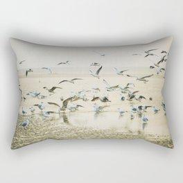 My heart beats in a million gulls Rectangular Pillow