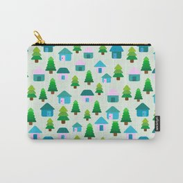 Home in Baby Mint Carry-All Pouch