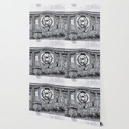 Diamant in Industrie Ruine Wallpaper