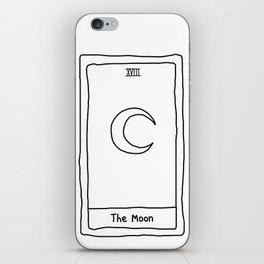 minimalist tarot cards iPhone Skin