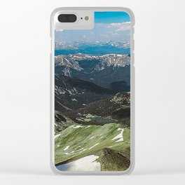 Summit the 14er Clear iPhone Case