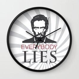Dr. House M.D. - Hugh Laurie Wall Clock