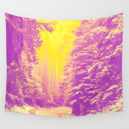Road to Sun Wall Tapestry