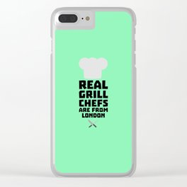 Real Grill Chefs are from London T-Shirt Dl16l Clear iPhone Case