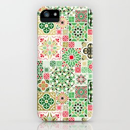 Moroccan Christmas iPhone Case