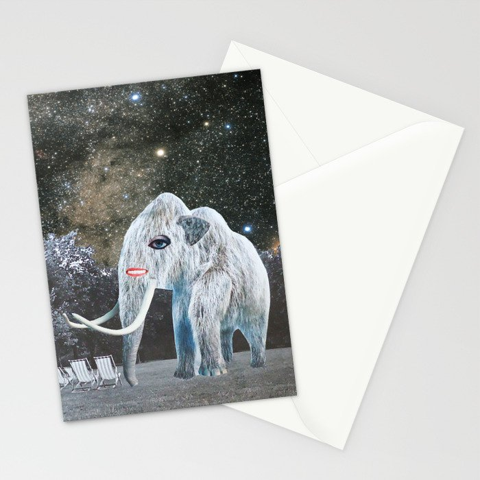 Strange Worlds Stationery Cards