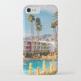 Palm Springs Saguaro iPhone Case