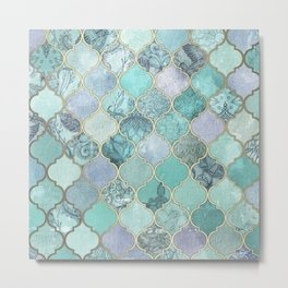 Muted Moroccan Metal Print