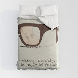 Salvador Allende Lente - TrincheraCreativ Comforters