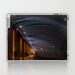 Banpo Bridge Light Show, Seoul Laptop & iPad Skin